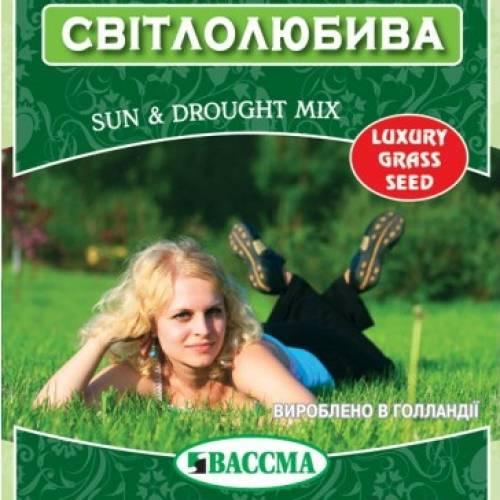 Трава газонная Светолюбивая 5 кг