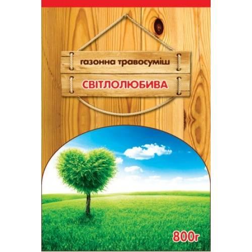 Трава газонная Светолюбивая 0,8 кг